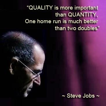 pilih kuantitas atau kualitas