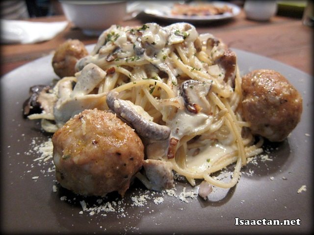 Spaghetti Meatballs - RM15.90
