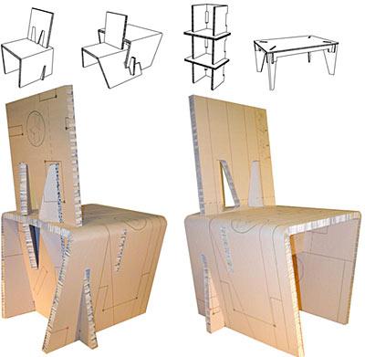 Apuntes revista digital de arquitectura algunas sillas for Silla zig zag planos