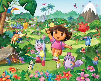 #8 Dora The Explorer Wallpaper