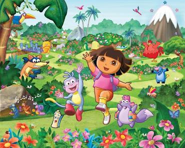 #8 Dora The Explorer Wallpaper