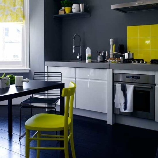 Kitchen Flooring Apartment Therapy: A Love Affair With Design: PAINTED WOOD