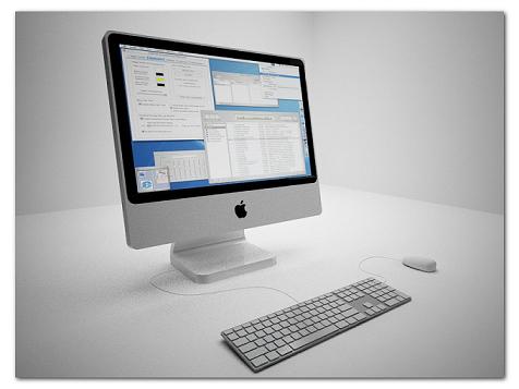 imac and macbook air free model world3ddesign. Black Bedroom Furniture Sets. Home Design Ideas