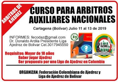 CURSO PARA ARBITROS AUXILIARES NACIONALES (Dar clic a la imagen)
