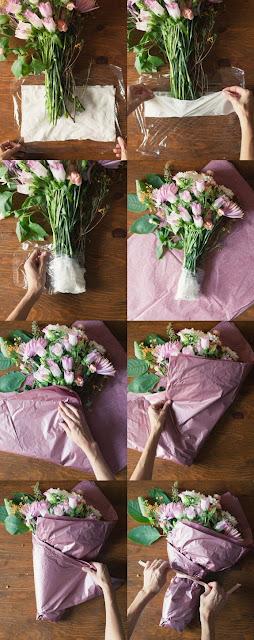 Bucket bunga hasil karyamu