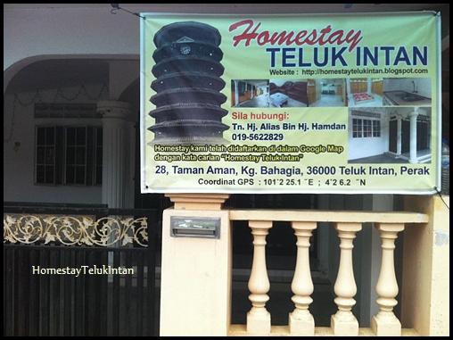 Banner Homestay Teluk Intan