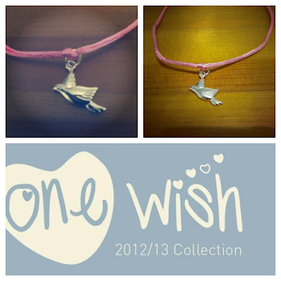 One Wish bird charm KatSick