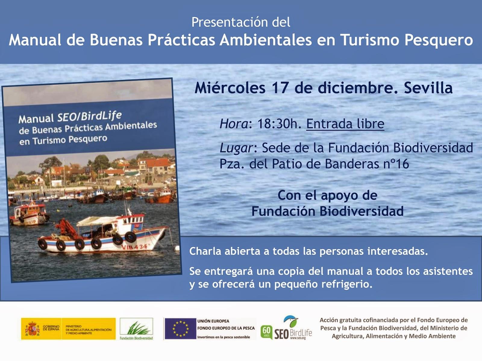 Presentación del Manual de Buenas Prácticas Ambientales en Turismo Pesquero