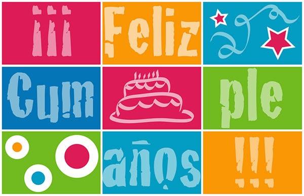 Imagenes y fotos: Feliz Cumpleaños en Letras, parte 2