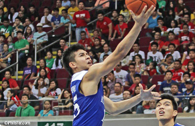 Kiefer Ravena's Reaction with the 'One Big Flop' Chants from University of the East (UE) Crowd