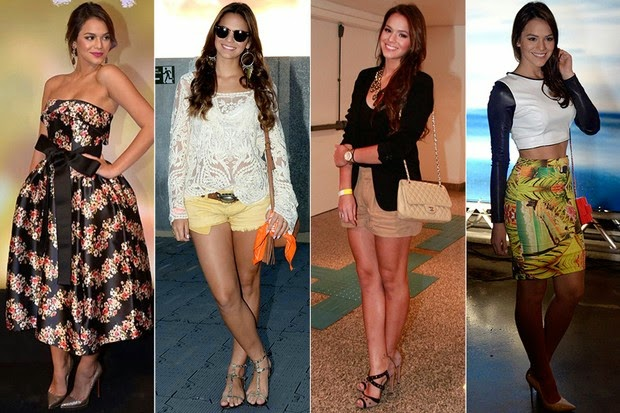 Os looks de Bruna Marquezine