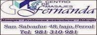 Centro masajes Fernanda