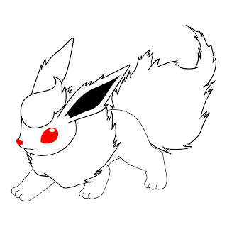 How To Draw Flareon Step 7