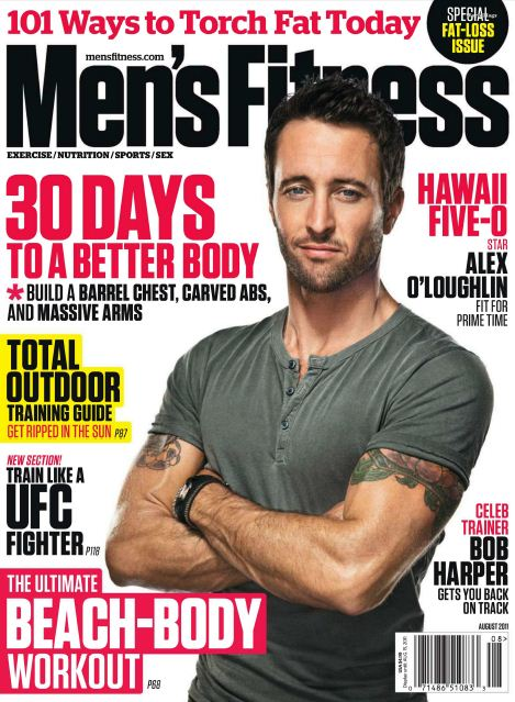 Men's Fitness Magazine USA - August 2011