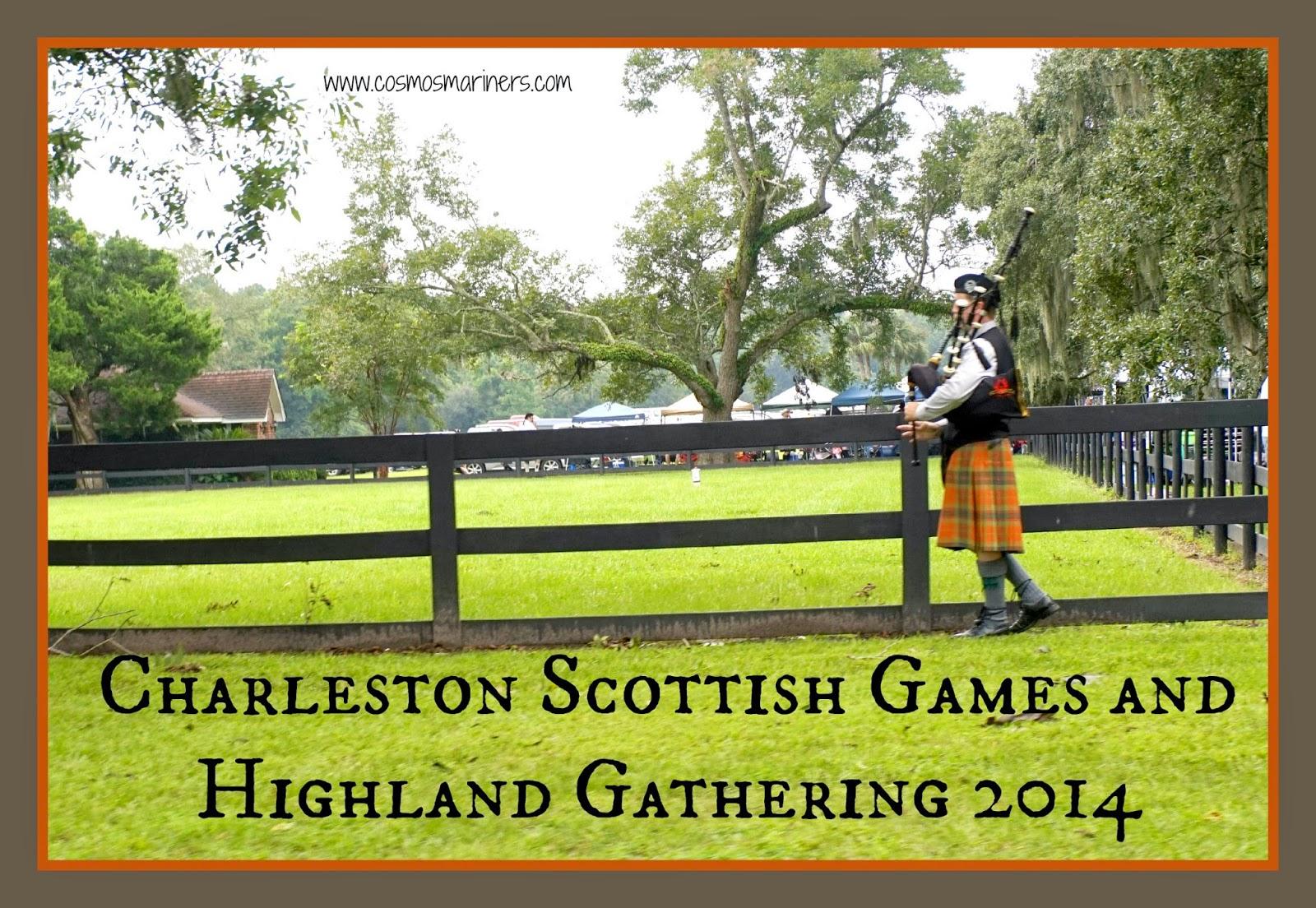 Charleston Scottish Games and Highland Gathering at Boone Hall