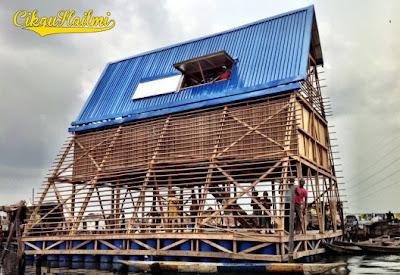 Sekolah Terapung Makoko di Nigeria