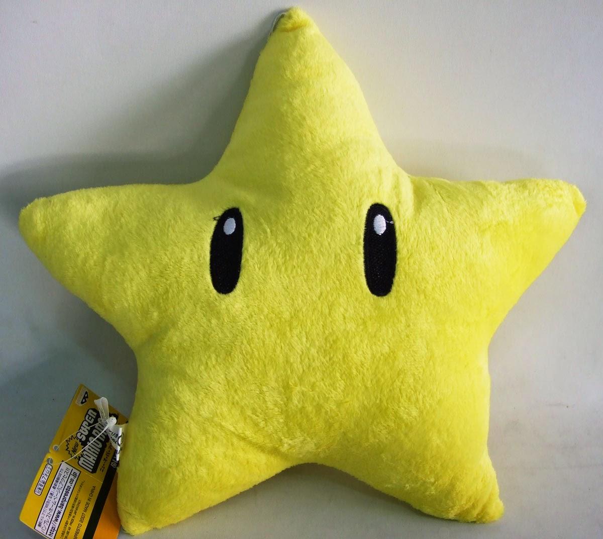 Cojín Estrella de Super Mario Bros