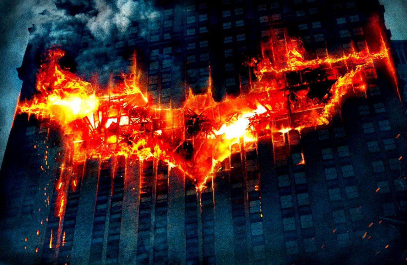 Batman Flame Logo Hd Wallpaper All Hd Wallpapers Gallery
