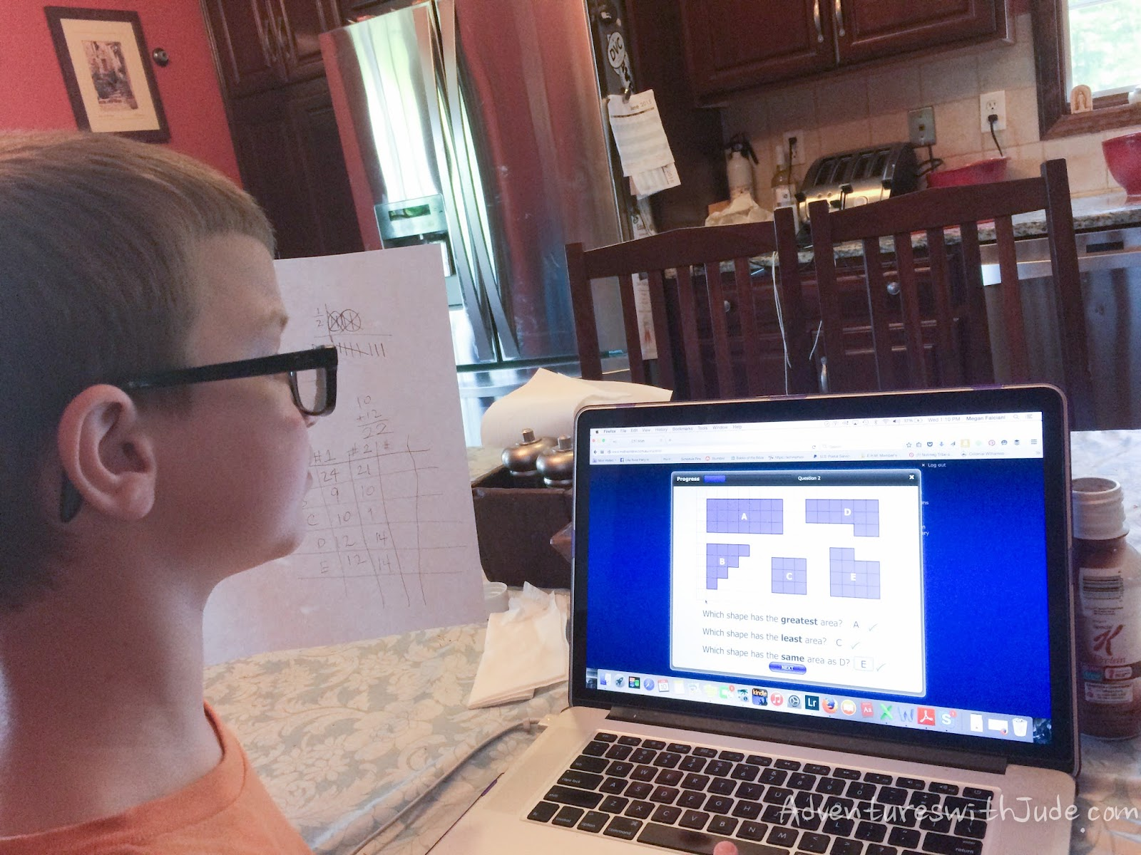 Adventures with Jude: CTC Math (A Schoolhouse Crew Review)