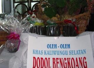 Bahan-bahan untuk membuat dodol bengkuang: