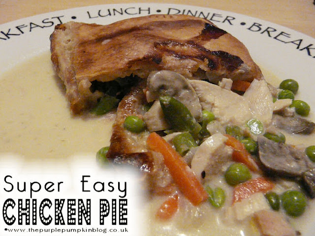 Super Easy Chicken Pie - cook and freeze ahead!
