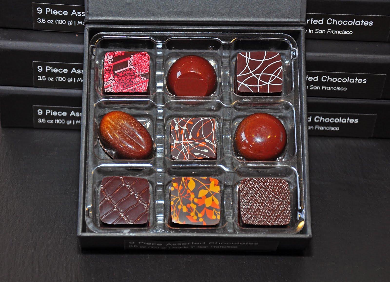 Holiday Chocolates, Anyone? Sweet News from the San Francisco Fall ...