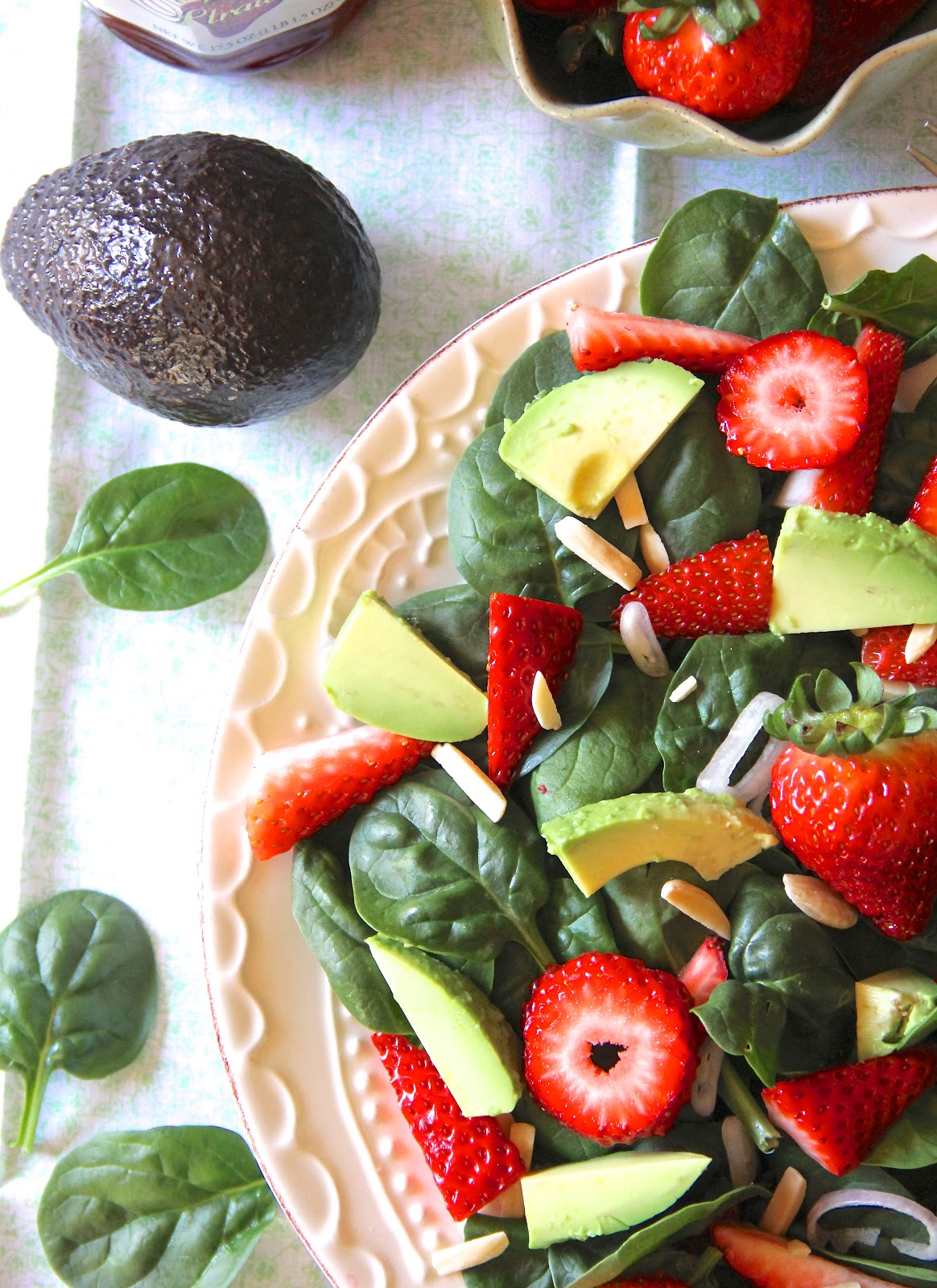 ValSoCal: Strawberry Avocado Salad