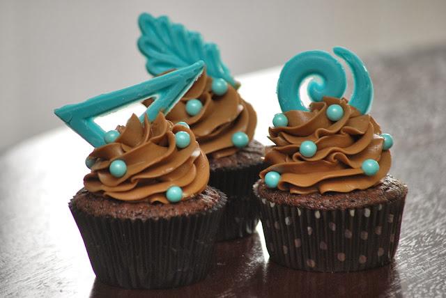 My story in recipes: Dark Chocolate Cupcakes