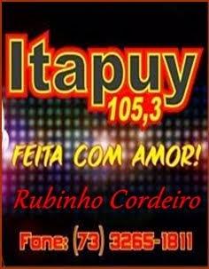 ITAPUY FM, COM RUBINHO CORDEIRO