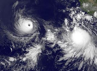 Tropischer Sturm FABIO wird wahrscheinlich kein Festland bedrohen, Fabio, Emilia, Satellitenbild Satellitenbilder, aktuell, Vorhersage Forecast Prognose, Mexiko, Nordost-Pazifik, Pazifische Hurrikansaison, Hurrikansaison 2012, Juli, 2012,