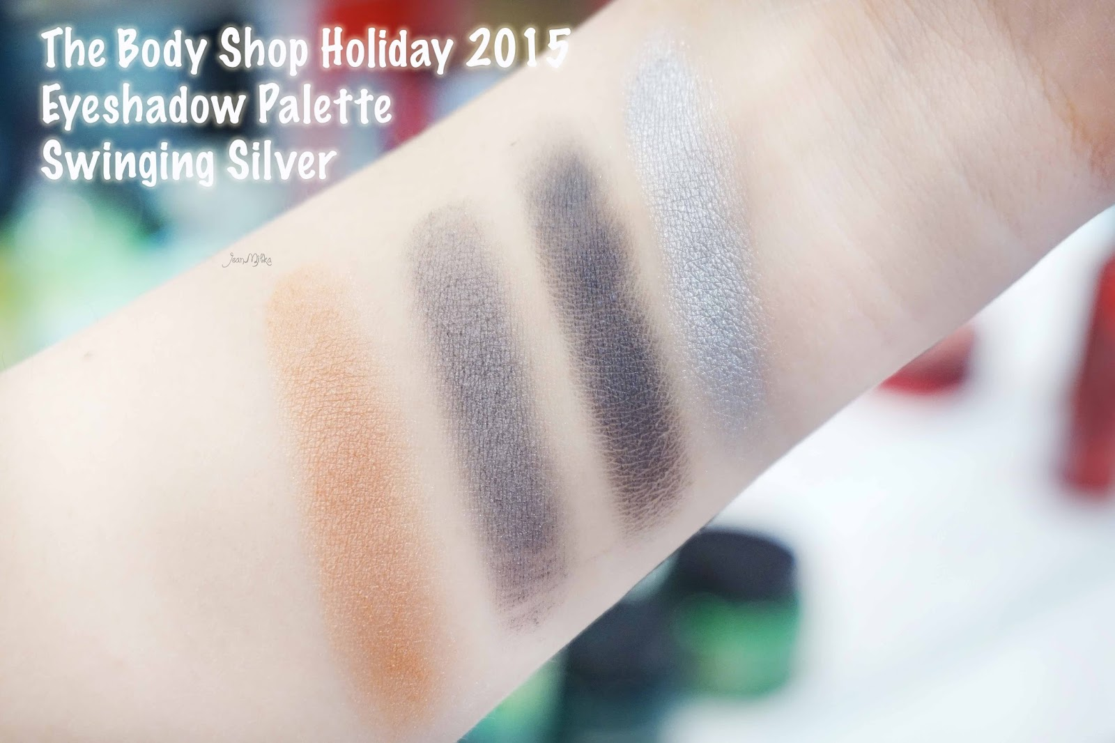 the body shop, body shop, christmas, christmas gift, gift, holiday, gifts. exclusive preview, swinging silver, eyeshadow, eyeshadow palette