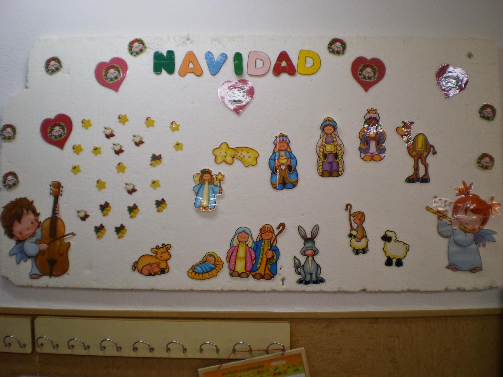 Mi blog de infantil 3 4 5 navidad en el cole - Mural navidad infantil ...