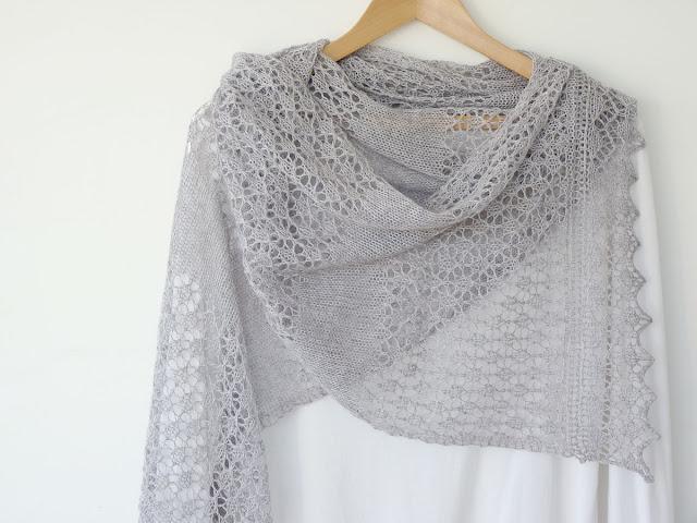 Madelines Wardrobe: Madelines Lace Scarf - new Ravelry ...