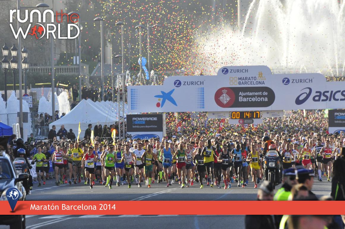 Maratón Barcelona 2014