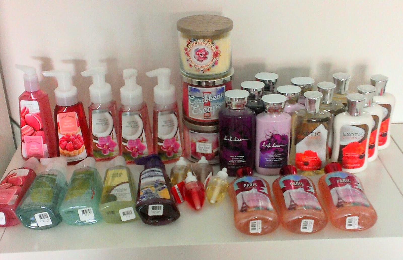 Bath and Body Works 2014 semi annual sale haul   Part 1. GlamaMama  Bath and Body Works 2014 semi annual sale haul   Part 1