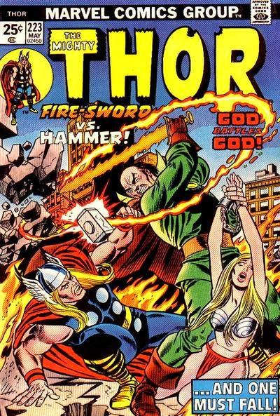 Thor #223, Pluto