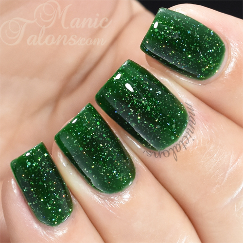 KBShimmer Kind of a Big Dill Swatch