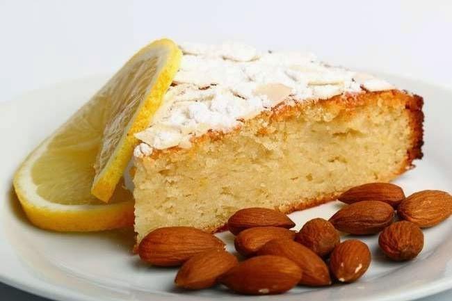 Limonlu bademli Kek Tarifi Kolay Yapımı