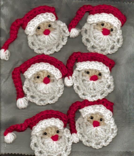 Adornos navide os christmas ornaments ii crochet desde - Adornos navidenos crochet ...