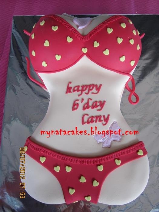 Mynata Cakes Bikini Birthday Cake For Lany