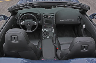 2011 Corvette GS Convertible interior