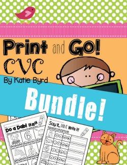 CVC Word Work!