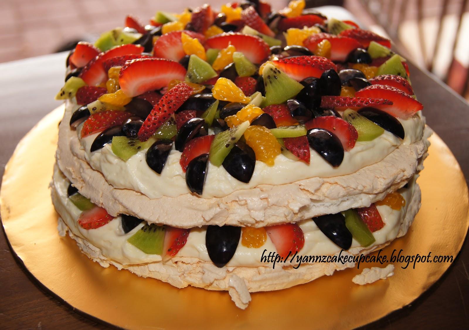 Cake & Cupcake By Yannz: Pavlova for Fadz & Haris