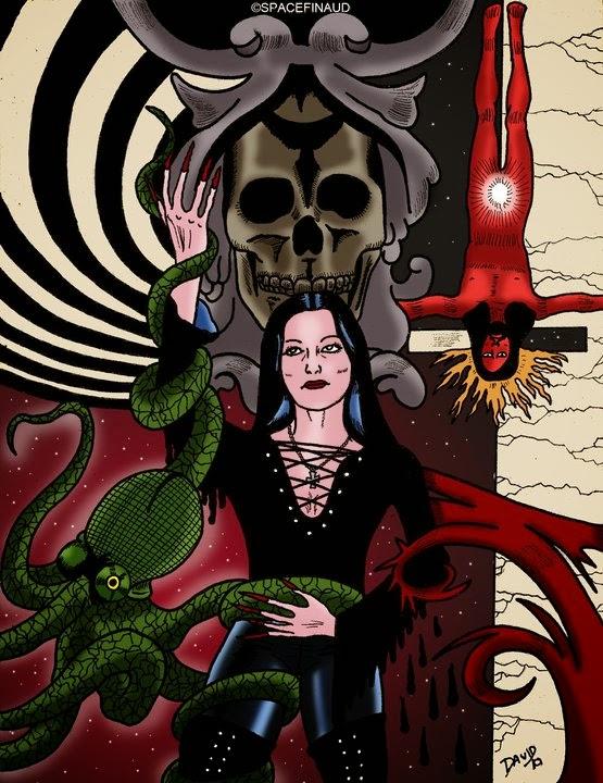 Squelette, satanique, Jesus Christ
