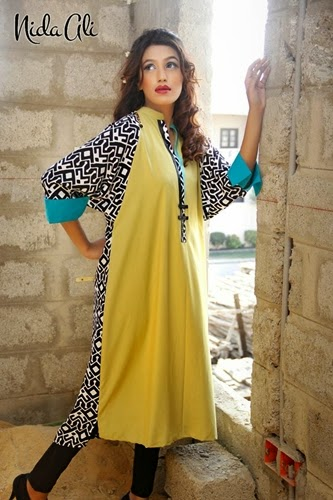 Nida Ali Winter Basics Collection 2014-15