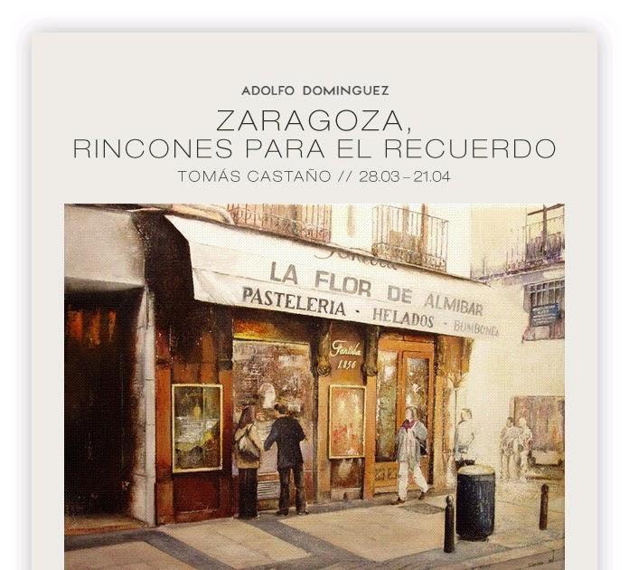 Exposiciones en zaragoza pintura museos fotograf a for Adolfo dominguez zaragoza aragonia