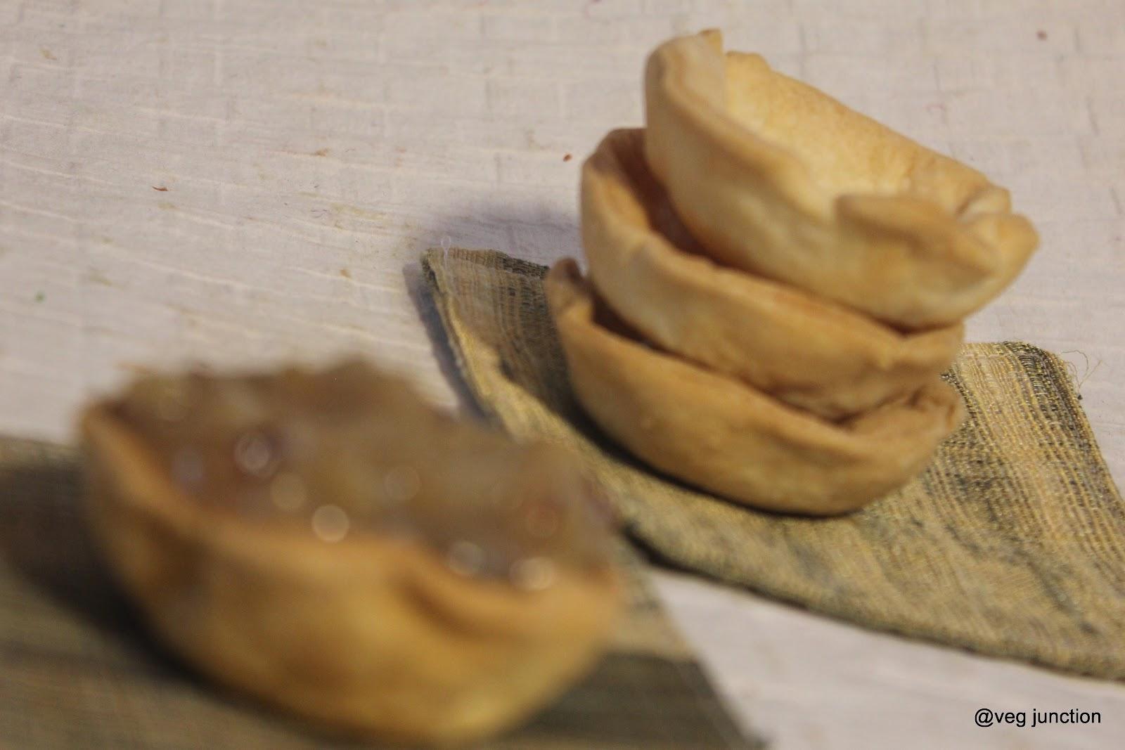 Walnut Tartlets - Veenas Vegnation