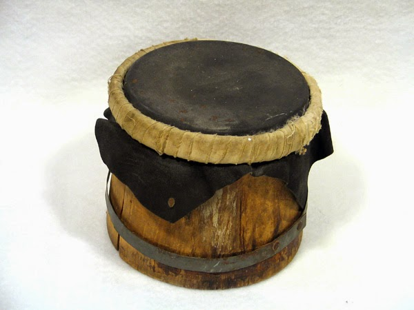 native american indian water drum