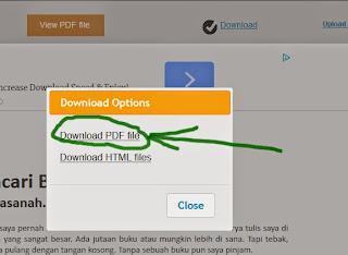 cara ubah file word ke pdf