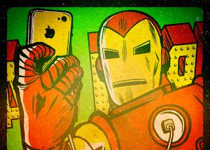 A febre das selfies atingiu até os super heróis!